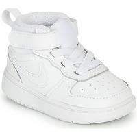 Chaussures Enfant Baskets basses Nike COURT BOROUGH MID 2 TD Blanc