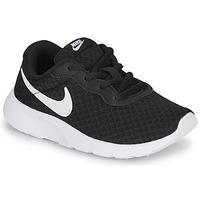 Chaussures Enfant Baskets basses Nike TANJUN PS Noir / Blanc
