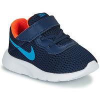 Chaussures Garçon Baskets basses Nike TANJUN TD Bleu
