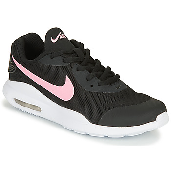 Chaussures Fille Baskets basses Nike AIR MAX OKETO GS Noir / Rose