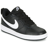 Chaussures Enfant Baskets basses Nike COURT BOROUGH LOW 2 GS Noir / Blanc