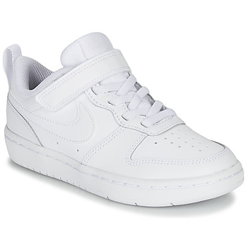 Chaussures Enfant Baskets basses Nike COURT BOROUGH LOW 2 PS Blanc