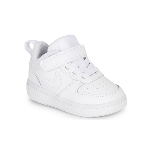 Chaussures Enfant Baskets basses Nike COURT BOROUGH LOW 2 TD Blanc