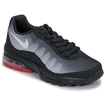 Chaussures Enfant Baskets basses Nike AIR MAX INVIGOR GS Noir / Rouge