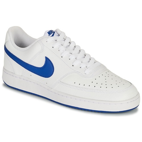 Chaussures Homme Baskets basses Nike COURT VISION LOW Blanc / Bleu