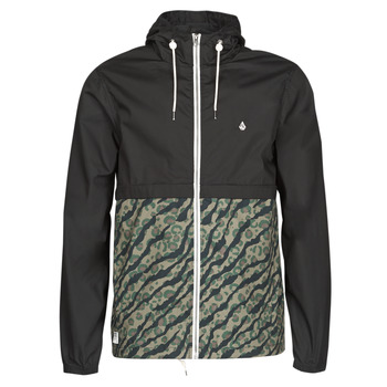 Vêtements Homme Coupes vent Volcom HOWARD HOODED Noir