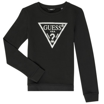 Vêtements Fille Sweats Guess GABOR Noir