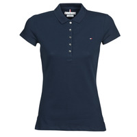 Vêtements Femme Polos manches courtes Tommy Hilfiger HERITAGE SS SLIM POLO Marine