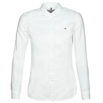 Vêtements Femme Chemises / Chemisiers Tommy Hilfiger HERITAGE REGULAR FIT SHIRT Blc
