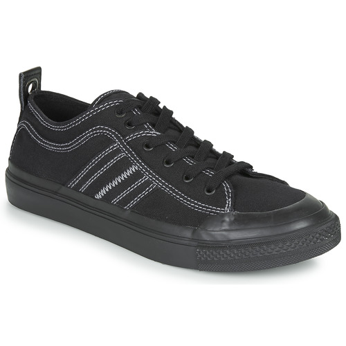 Chaussures Homme Baskets basses Diesel S-ASTICO LOW Noir / Blanc