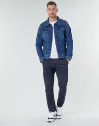 Vêtements Homme Chinos / Carrots G-Star Raw VETAR SLIM CHINO Bleu
