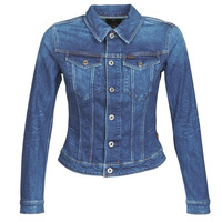 Vêtements Femme Vestes en jean G-Star Raw 3301 Slim Jkt Wmn faded stone