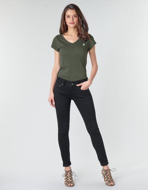 Vêtements Femme Jeans skinny G-Star Raw MIDGE CODY MID SKINNY WMN Noir