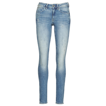 Vêtements Femme Jeans skinny G-Star Raw Midge Zip Mid Skinny Wmn lt vintage aged destroy