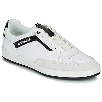 Chaussures Homme Baskets basses Redskins YELLE Blanc / Noir