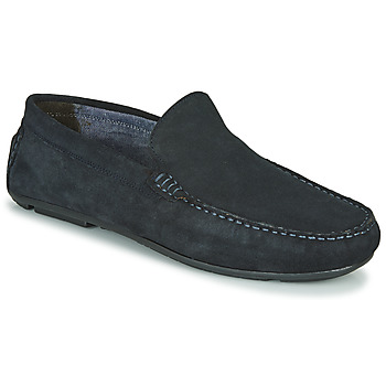 Chaussures Homme Mocassins André BIOUTY Marine