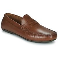 Chaussures Homme Mocassins André SLOTI Cognac