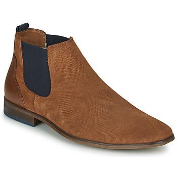 Chaussures Homme Derbies André WALOU Cognac