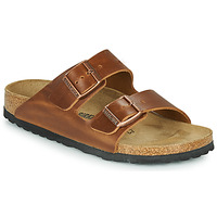 Chaussures Mules Birkenstock ARIZONA LEATHER Marron