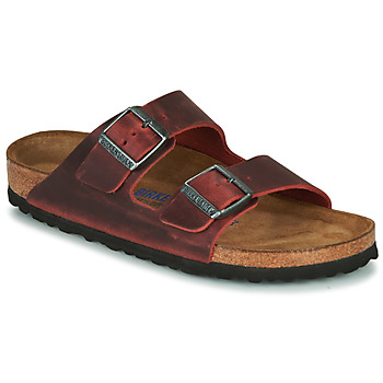 Chaussures Femme Mules Birkenstock ARIZONA SFB LEATHER Bordeaux