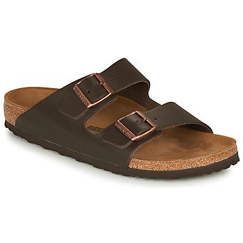 Chaussures Homme Mules Birkenstock ARIZONA LEATHER Marron
