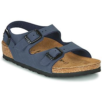Chaussures Garçon Sandales et Nu-pieds Birkenstock ROMA Marine