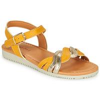 Chaussures Fille Sandales et Nu-pieds André TRESSIA Jaune
