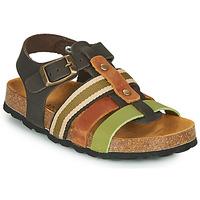 Chaussures Garçon Sandales et Nu-pieds André TRISTAN Kaki