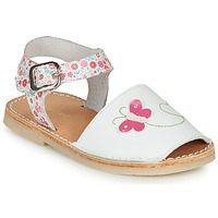Chaussures Fille Sandales et Nu-pieds André SILENA Blanc