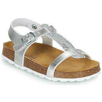 Chaussures Fille Sandales et Nu-pieds André SYLVIE Argenté