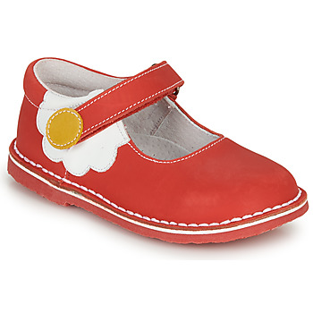 Chaussures Fille Ballerines / babies André PAQUERETTE Rouge