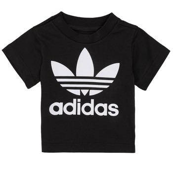 Vêtements Enfant T-shirts manches courtes adidas Originals MARGOT Noir