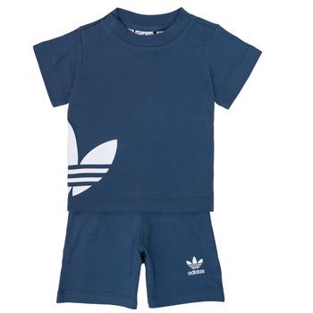 Vêtements Garçon Ensembles enfant adidas Originals CYLIA Bleu
