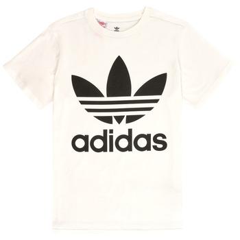 Vêtements Enfant T-shirts manches courtes adidas Originals SARAH Blanc