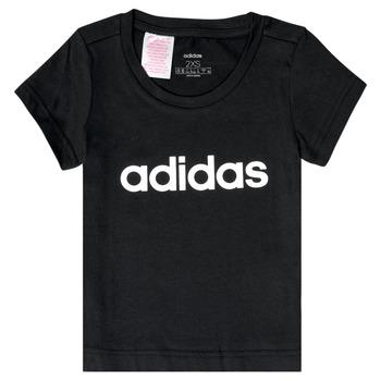 Vêtements Fille T-shirts manches courtes adidas Performance NATRAZ Noir