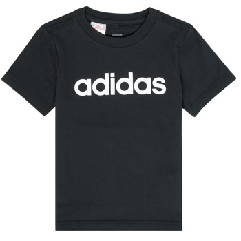 Vêtements Garçon T-shirts manches courtes adidas Performance NATAZO Noir