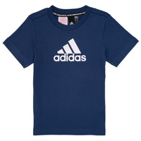 Vêtements Garçon T-shirts manches courtes adidas Performance BRIAN Marine