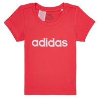 Vêtements Fille T-shirts manches courtes adidas Performance MAKIT Rose
