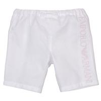 Vêtements Fille Shorts / Bermudas Emporio Armani Aniss Blanc