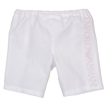 Vêtements Fille Shorts / Bermudas Emporio Armani Aniss Blanc