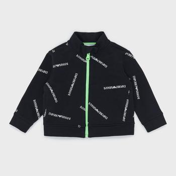 Vêtements Garçon Sweats Emporio Armani Augustin Noir