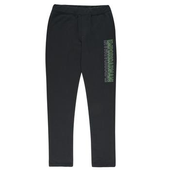Vêtements Garçon Pantalons de survêtement Emporio Armani Arnaud Noir