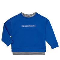 Vêtements Garçon Sweats Emporio Armani Aurèle Bleu