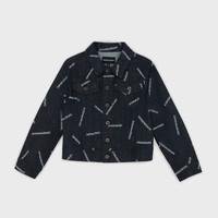 Vêtements Garçon Vestes en jean Emporio Armani Angelo Bleu