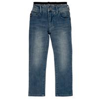 Vêtements Garçon Jeans droit Emporio Armani Annie Bleu
