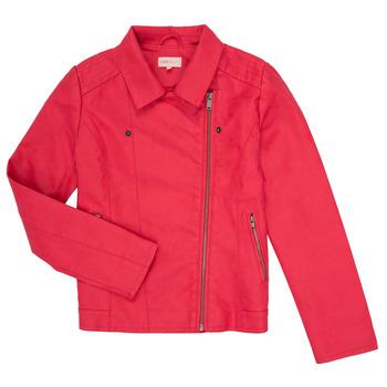 Vêtements Fille Vestes en cuir / synthétiques Only KONCARLA Rose
