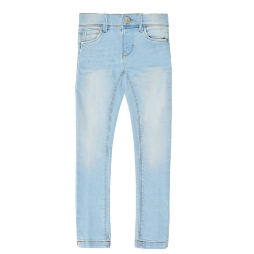 Vêtements Fille Jeans slim Name it NMFPOLLY DNMCILLE Bleu