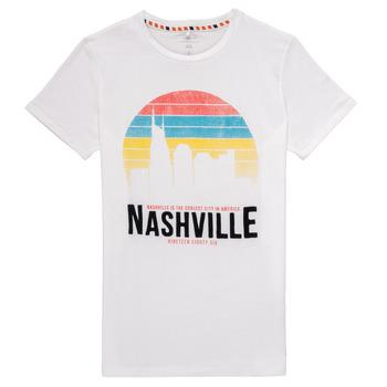 Vêtements Garçon T-shirts manches courtes Name it NKMDPOPS Blanc