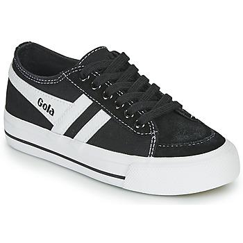 Chaussures Enfant Baskets basses Gola QUOTA II Noir / Blanc