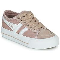 Chaussures Enfant Baskets basses Gola QUOTA II Rose / blanc